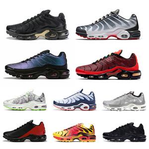nike air max plus tn se chaussures de course hommes Volt Greedy Hyper Crimson Triple Noir Blanc Tartan mens designer sport athlétique baskets taille 40-45
