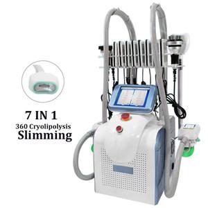 Спа салон Использование Cryo 360 Cryolipolisis Жир Замораживание машина локализованного жира Удаление LPG Эндермология Coolplas уменьшить живот жир