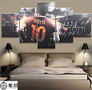 Totti AS Roma Serie -1,5 Pieces HD Canvas Printing New Home Decoration Art Painting Unframed Framed