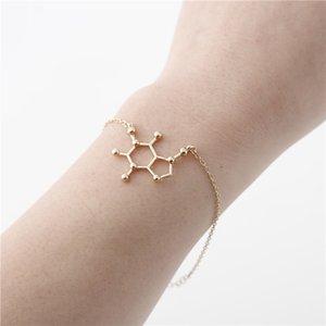 1 altıgen Kahve Molekülü bilezik Kimyasal Fizik Biyo Molekül bilezik Bilim Yapısı Bakım Geometri Poligon Bilim Gen bilezik