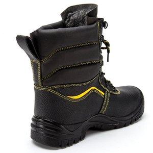 Scarpe da uomo Scarpe in pelle inverno militare Stivaletti Moda Army Boot Maschio tattico Desert Combat High Top Work Safety Stivali Uomini
