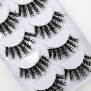 DHL Free shipping 3D-Y10 5pairs set Y series transparent terrier 3D Natural soft silk eyelashes handmade eyelashes