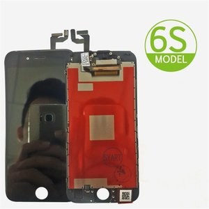 SYART Marca LCD del teléfono para el iphone 6S pantalla de reemplazo de pantalla táctil digitalizador 6s panel de cristal LCD Asamblea Blanca y Negro