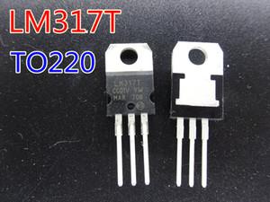 20pcs / lot nuovo transistor LM317T TO-220 1,2 V a 37V di tensione nel trasporto libero