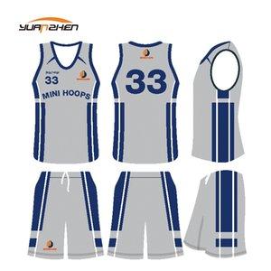 Заказной Униформа Сублимированных печатей Баскетбола With No MOq бокс Одежды