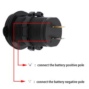 De DHL USB libre del artículo Navegación energía del teléfono móvil del enchufe del cargador Accesorios motocicleta del coche del adaptador del zócalo de voltaje automático a prueba de agua