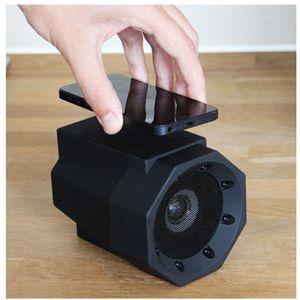 çocuk EEA1275 için Dokunmatik Hoparlör Rezonans Hoparlör Telefon Kablosuz Bağlantı Yok Eşleştirme Mega Ses Boost Boom Box İçin Akıllı Telefon Hediye Boom