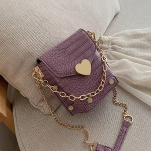 Female Rivet Pu Leather Crossbody Bags For Women 2020 Chain Shoulder Messenger Bag Ladies Hand Sling Luxury Handbags Designer