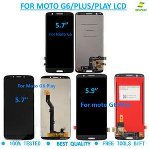 Für Motorola MOTO G6 LCD Display Touch-Screen-Analog-Digital wandler Wiedereinbau für Moto G6 G6Plus G6 Wiedergabe LCDs Screen + Free Tools