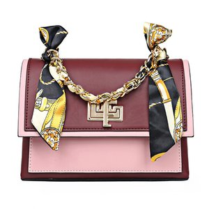 designer handbag corssbody package Silk scarves women shoulder bag PU handbag ladies bag designer luxury fashion messenger bag