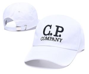 2020 새로운 도착 CP C.P 회사는 조정 곡선 정점 strapback 모자 패션 문자가 태양면 모자 도매 뼈 캡 모자