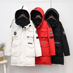 Lovers of Clothing Winter Warm Outwear Down Jacket Hooded Puffer Sweethearts Outfit Warm Parka Long Down Coat Size M-3XL Free DHL