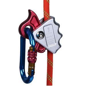Arrampicata dispositivo Outdoor aerea Manuale Stopper Anti-caduta corda di sicurezza autobloccanti strumenti Gripper Outdoor Nuovi