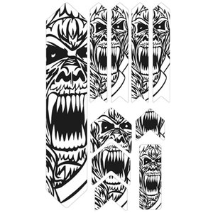 Bike Stickers 3D MTB Mountain Bike Scratch-Resistant Protect Frame Protector Removeable Sticker Road Bicycle Paster Guard Cover