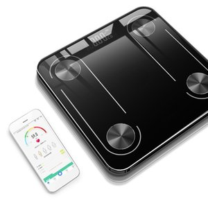 Charging Body Electronic Scales USB Fat Scale Floor Glass Smart LED Digital BMI Weight Balance Bariatric Bathroom Bluetooth Sca