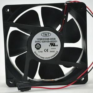 pour 1238HH24B-WDB 24V 0.70A 12038 2 ventilateur de refroidissement ligne Robot ABB Livraison gratuite