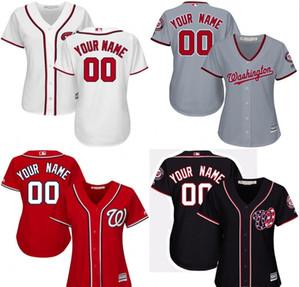 2020 personnalisés Hommes enfants Femmes Nationals de Washington jeunes Personnalisé 100% basket-ball Cousu Maillots des chemises jersey numéro de nom personnel