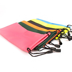 Colorful Sunglasses Pouch Soft Waterproof Sunglass Bag Portable Drawstring Eyeglasses Cases Cellphone Jewelry Pouch Bag Package