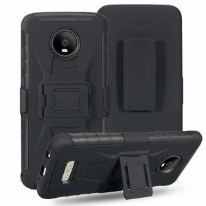 Custodia robusta per uso militare resistente con clip da cintura Fondina girevole Cavalletto per Moto X4, MOTO E5 PLAY, MOTO Z3, MOTO Z3 PLAY, MOTO Z4 PLAY