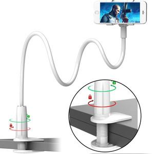 supporto universale porta cellulare 80cm lunghi braccio pigro Holder Bed Desktop per Samsung Mobile Tablet PC stand supporti allungabile per iphone