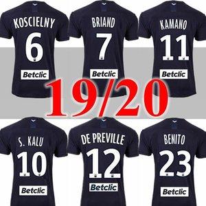 19 20 لكرة القدم بالقميص بوردو 2019 2020 مايوه دي القدم BRIAND S.KALU KAMANO واجهة المستخدم جو BENITO DE PREVILLE BASIC قمصان كرة القدم