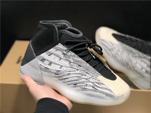 2020 Shoes Quantum Basquetebol Venda Grey Black Color Scheme nublado Semi-translúcido Soles alta qualidade Kanye West Esporte Sneakers Com Box