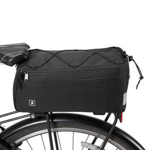 SAHOO Bisiklet Çanta Çok Fonksiyonlu MTB Bisiklet Çanta Bisiklet Çanta Pannier Trunk Paketi Bisiklet Bisiklet Panniers Raf Çantası