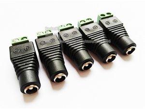 고품질 DC 5.5 * 2.5MM 암 플러그 고정 SCREW TERMINAL / 무료 배송 / 20PCS로