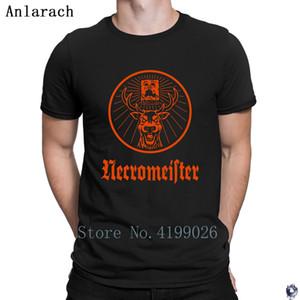 NECROMEISTER tshirt Humor Criatura topos dos homens do presente tshirt 2018 legal algodão Anlarach Clothes