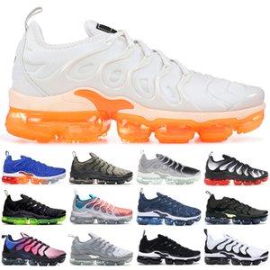 Nike Air max Vapormax 2019 TN Plus Game royal En Blanc Argent Raisin À Coloris Chaussures Hommes Chaussures De Course À Pied Homme Pack De Chaussures Triple Noir US 5.5-11