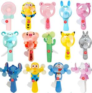 Novo estilo dos desenhos animados fã imprensa da mão de mão portátil mini portátil bonito mão estudante segurar as crianças brinquedos personalizado