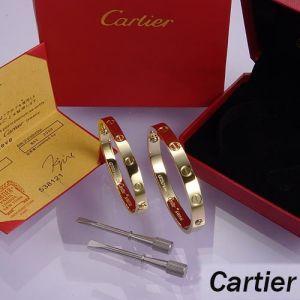 2020 nouveau titane chaudcartier or rose 316L Bracelet à vis en acier inoxydable avec les hommes de tournevis et boîte d'origine et les femmes amour