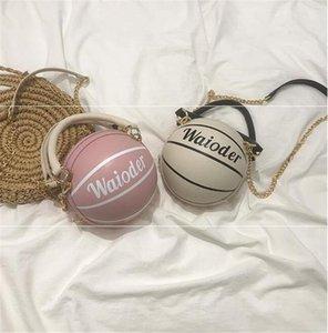 [Bxx] Les femmes single de l'épaule sac à bandoulière All-match Pu cuir grande capacité Tote 2020 Marque Basketball Rivet Sac à main Hi391 # 80874