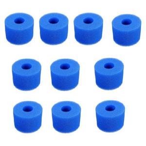 10PCS Swimming Pool Filter Water Pump Filter Pump S1 Washable Bio Foam 2 4 x UK VI LAZY 'Z Type Filter'
