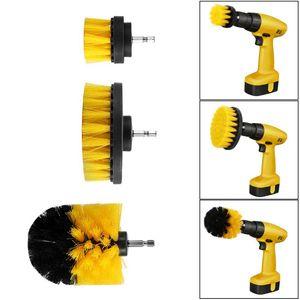 3PCS Power Scrubber Щетка набор для ванной STRUBLE SCRUBBER Щетка для чистки Беспроводная буровая установка Комплект питания Scrub