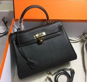 잠금 여성 레이디 소 가죽 패션 핸드백 공장 도매와 32CM 28CM 25CM 2020 패션 토트 어깨 가방