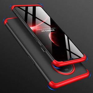 360 Полного Дело защиты для OnePlus 7T Case 3 в 1 ультра тонких жесткого PC задней крышки для One плюс 7T Oneplus7T Обложка