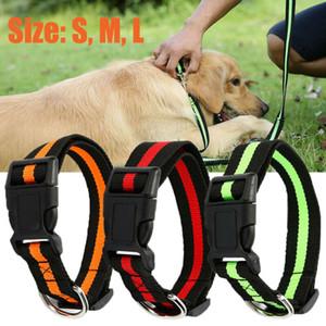 Yeni Ayarlanabilir Köpek Köpek Kedi Pet Emniyet Naylon kolye Toka Boyunluk Yavru Köpek Kedi Pet Kullanımı 2020