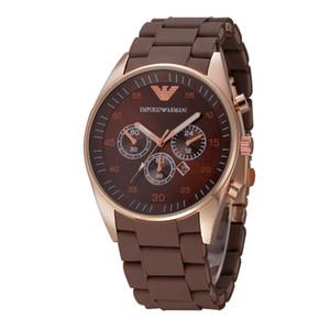 Assista Homens Silicone relógios de quartzo relógio analógico Waterproof exército do Esporte Militar Relógio de pulso montre homme relógios dos homens ocasionais da forma