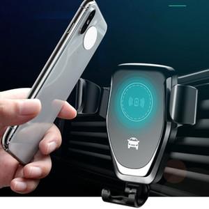 FAST chargeur de voiture sans fil grille d'aération Phone Holder pour iPhone XS Max Samsung S9 Xiaomi MIX 2S Huawei Maté 20 RS Pro