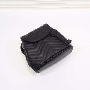 2020 Genuine Duplo Couro ombro de Moda importação de bezerro Mini Backpack Mulheres Saco com Belt Correia menina Amor mochilas pequenas rosa Preto