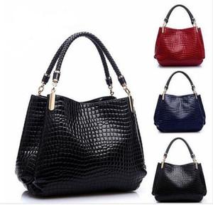 Bolso de cocodrilo español para el bolso de las mujeres de lujo famoso diseñador bolso Bolsos de hombro de las señoras bolso de playa femme