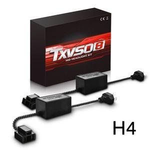 H4 HID LED-Scheinwerfer Umrüstkit Canbus Fehler Free Anti Flicker Widerstand Canceller Decoder (2 Stück)