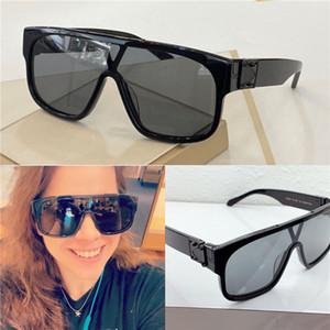 Nuevo diseño de moda gafas de sol de montura de la lente 1258 cuadrado, conexión de alta calidad estilo pop sencillo al aire libre UV400 de los vidrios de las gafas al por mayor