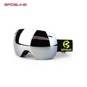 2018 Winter Ski Goggles Double Lens Anti-fog Snowboard Eyewear occhiali neve Ski Glasses Snow Goggle Men Women Snowboard Googles
