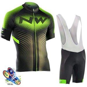 Northwave été 2019 hommes cyclisme maillot à manches courtes Set Cuissard respirant VTT vélo Vêtements Ropa Ciclismo hombre NW