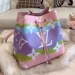 Оптовые дизайнерские роскошные сумки кошельки мода ведро Сумка кошелек наплечные сумки Tote красочные crossbody сумка рюкзак хозяйственные сумки