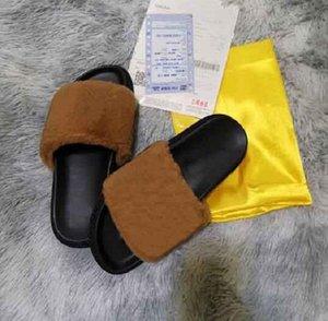 2020 classic FF estilos marca de moda causal chinelos homens mulheres tian / blooms começar sandálias de slides de impressão unisex outdoor praia flip flops