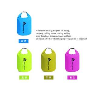 Natação portátil Bolsas deriva Bag 210T poliéster Taff Waterproof Dry Bag Prático Durável Remo Desportivo Canoe Outdoor