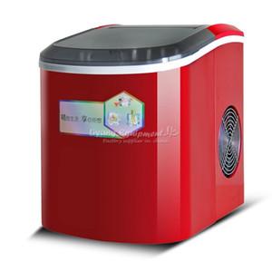 Für den persönlichen Gebrauch Familie LY IM-15 Eisherstellungsmaschine 15KG 24 STUNDEN Gewehrkugelart Eismaschine 2.2L manuelle Wassereinspritzung 95W